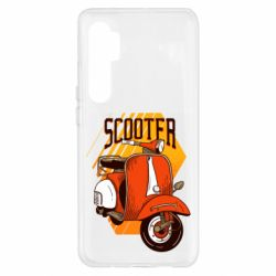 Чохол для Xiaomi Mi Note 10 Lite Orange scooter