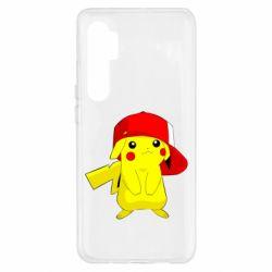 Чехол для Xiaomi Mi Note 10 Lite Pikachu in a cap