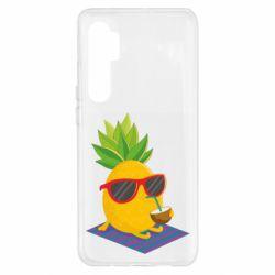 Чехол для Xiaomi Mi Note 10 Lite Pineapple with coconut