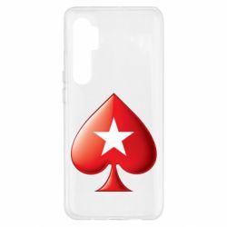 Чохол для Xiaomi Mi Note 10 Lite Poker Stars 3D Logo