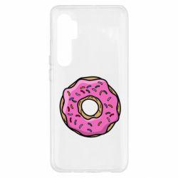 Чехол для Xiaomi Mi Note 10 Lite Пончик Гомера