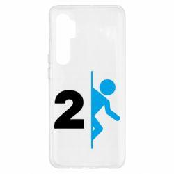 Чехол для Xiaomi Mi Note 10 Lite Portal 2 logo
