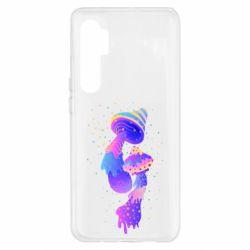 Чохол для Xiaomi Mi Note 10 Lite Грибы, еда