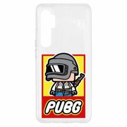 Чехол для Xiaomi Mi Note 10 Lite PUBG LEGO