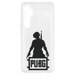 Чехол для Xiaomi Mi Note 10 Lite PUBG logo and hero