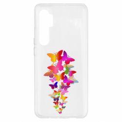 Чохол для Xiaomi Mi Note 10 Lite Rainbow butterflies
