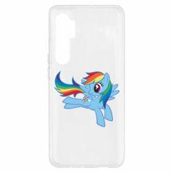 Чохол для Xiaomi Mi Note 10 Lite Rainbow Dash run