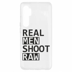 Чохол для Xiaomi Mi Note 10 Lite Real Men Shoot RAW