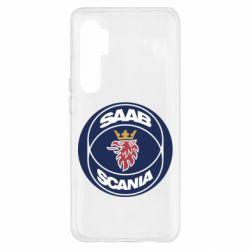 Чехол для Xiaomi Mi Note 10 Lite SAAB Scania