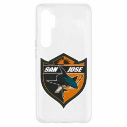 Чохол для Xiaomi Mi Note 10 Lite San Jose Sharks