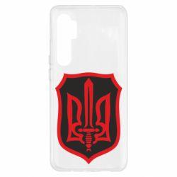 Чехол для Xiaomi Mi Note 10 Lite Shield with the emblem of Ukraine and the sword