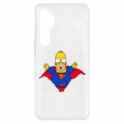 Чехол для Xiaomi Mi Note 10 Lite Simpson superman