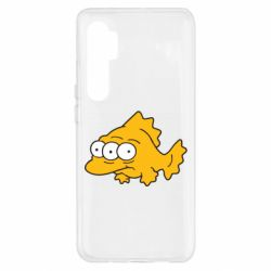Чохол для Xiaomi Mi Note 10 Lite Simpsons three eyed fish