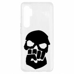Чехол для Xiaomi Mi Note 10 Lite Skull and Fist