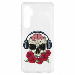 Чохол для Xiaomi Mi Note 10 Lite Skull and roses