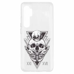 Чохол для Xiaomi Mi Note 10 Lite Skull with insect