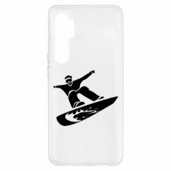 Чохол для Xiaomi Mi Note 10 Lite Snow Board