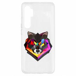 Чехол для Xiaomi Mi Note 10 Lite Сolorful wolf