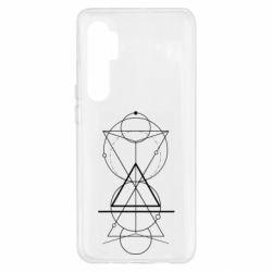 Чохол для Xiaomi Mi Note 10 Lite Сomposition of geometric shapes