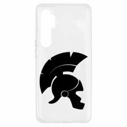 Чехол для Xiaomi Mi Note 10 Lite Spartan helmet