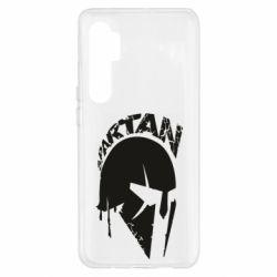 Чехол для Xiaomi Mi Note 10 Lite Spartan minimalistic helmet