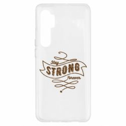 Чохол для Xiaomi Mi Note 10 Lite Stay strong forever