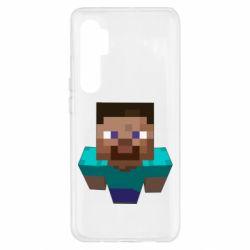 Чехол для Xiaomi Mi Note 10 Lite Steve from Minecraft