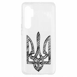 Чехол для Xiaomi Mi Note 10 Lite Striped coat of arms