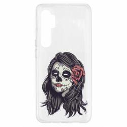 Чехол для Xiaomi Mi Note 10 Lite Sugar girl with a rose