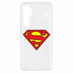 Чехол для Xiaomi Mi Note 10 Lite Superman Symbol