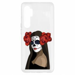 Чехол для Xiaomi Mi Note 10 Lite The girl in the image of the day of the dead