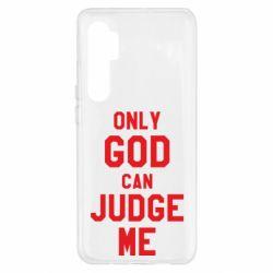 Чохол для Xiaomi Mi Note 10 Lite Тільки Бог може судити мене