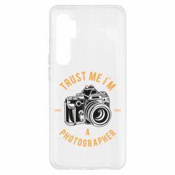 Чохол для Xiaomi Mi Note 10 Lite Trust me i'm photographer