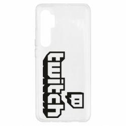 Чохол для Xiaomi Mi Note 10 Lite Twitch logotip