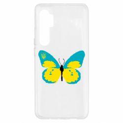 Чехол для Xiaomi Mi Note 10 Lite Український метелик