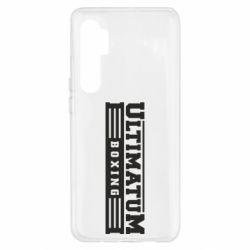 Чехол для Xiaomi Mi Note 10 Lite Ultimatum Boxing