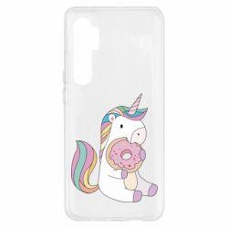 Чехол для Xiaomi Mi Note 10 Lite Unicorn and cake