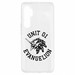 Чехол для Xiaomi Mi Note 10 Lite Unit 01 evangelion