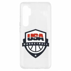 Чехол для Xiaomi Mi Note 10 Lite USA basketball