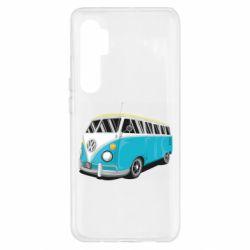 Чехол для Xiaomi Mi Note 10 Lite Vector Volkswagen Bus