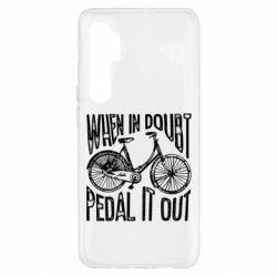 Чохол для Xiaomi Mi Note 10 Lite When in doubt pedal it out
