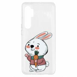 Чехол для Xiaomi Mi Note 10 Lite Winter bunny