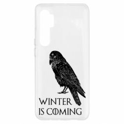 Чохол для Xiaomi Mi Note 10 Lite Winter is approaching and crow