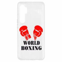 Чохол для Xiaomi Mi Note 10 Lite World Boxing