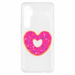 Чехол для Xiaomi Mi Note 10 Lite Я люблю пончик