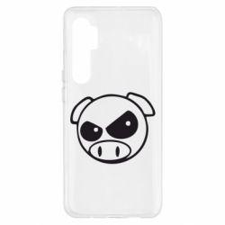 Чохол для Xiaomi Mi Note 10 Lite Зла свинка