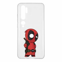 Чохол для Xiaomi Mi Note 10 Little Deadpool