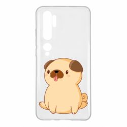 Чехол для Xiaomi Mi Note 10 Little pug