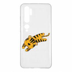 Чехол для Xiaomi Mi Note 10 Little striped tiger