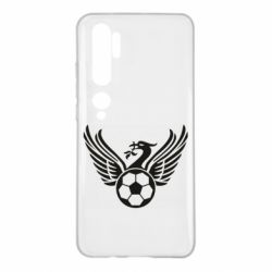 Чехол для Xiaomi Mi Note 10 Liverpool and soccer ball